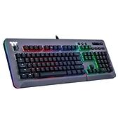 曜越 Level 20 RGB Cherry MX 機械式 電競鍵盤 (青軸中文/鈦灰特仕版)
