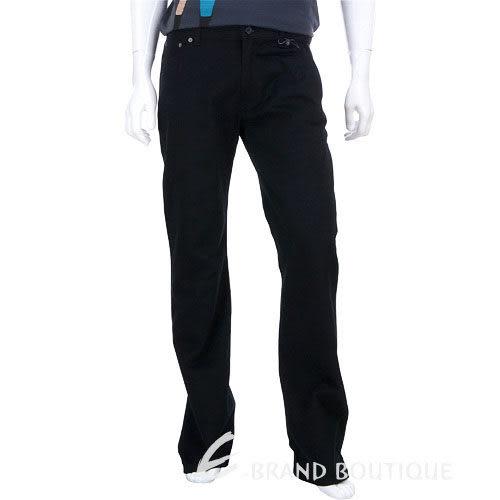 MOSCHINO 銀釦飾休閒長褲(黑色) 0510251-01