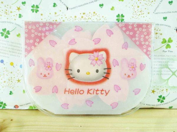 【震撼精品百貨】Hello Kitty 凱蒂貓-KITTY吸油面紙-櫻花圖案
