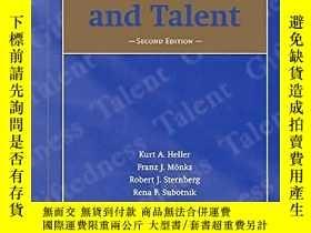 二手書博民逛書店International罕見Handbook Of Giftedness And TalentY255562