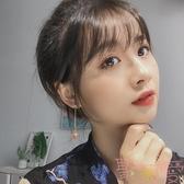 網紅耳環女氣質韓國百搭小眾耳釘顯瘦無耳洞耳夾【聚可愛】