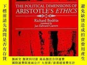 二手書博民逛書店The罕見Political Dimensions Of Aristotle s Ethics (s U N Y