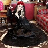 萬圣節服裝鬼新娘女巫婆吸血鬼服化裝舞會cosplay服裝哥特長裙女