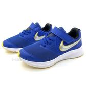 《7+1童鞋》中童 NIKE STAR RUNNER 2 PSV 輕量 透氣 耐穿 緩震 運動 慢跑鞋 G888 藍色