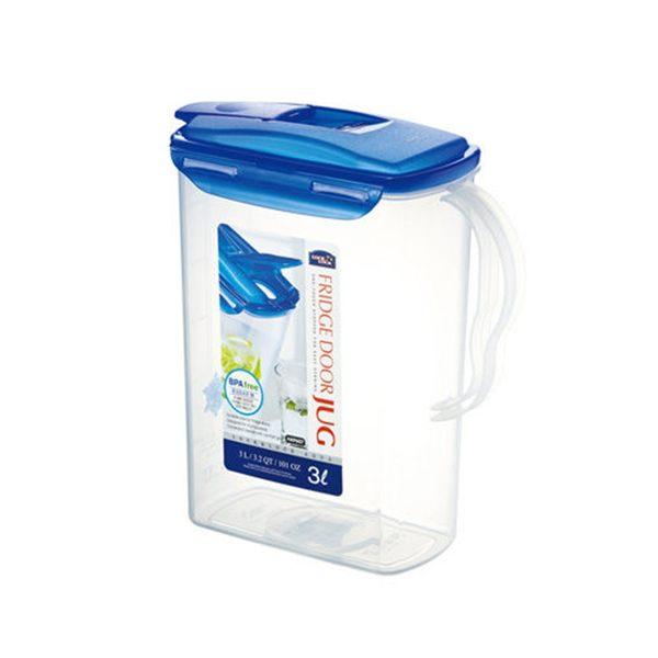 樂扣樂扣冷溫兩用冷水壺3L把手環扣設計不含塑化劑HAP607-大廚師百貨