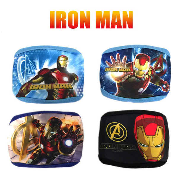 英雄聯盟 IRONMAN兒童棉質防塵口罩 正版商品 鋼鐵人 美國隊長 里和 Riho
