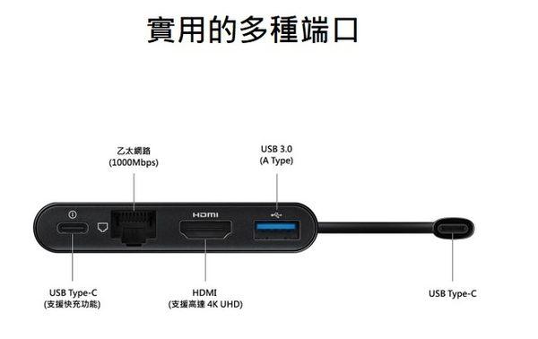 【免運費】SAMSUNG 原廠 4合1數位轉接頭EE-P5000★原廠盒裝