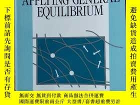二手書博民逛書店英文原版書罕見Applying General Equilibr