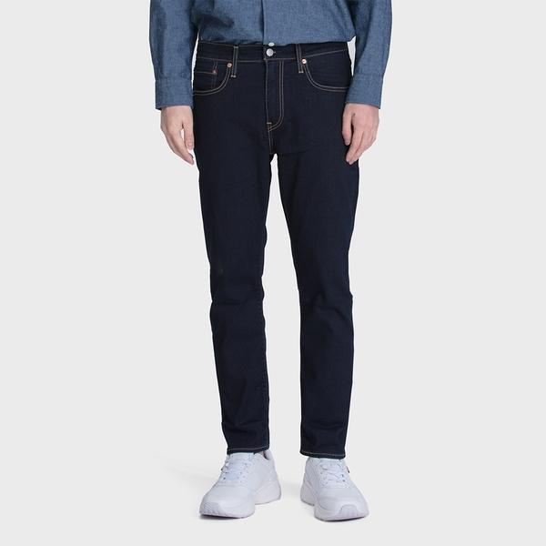 Levis 男款 上下窄 502Taper牛仔褲 / Cool Jeans輕彈有型 / 原色 / 及踝款