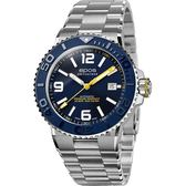 epos 愛寶時 Sportive Diver 500米防水陶瓷錶圈自動排氦機械錶-藍/42mm 3441.131.96.56.30