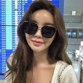 現貨-韓國ulzzang原宿高品質墨鏡復古太陽眼鏡女潮 新款明星款方框韓版網紅復古防紫外線墨鏡女