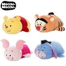 【日本正版】小熊維尼 人物系列 趴姿造型 小豬 維尼 絨毛玩偶 玩偶 Mocchi-Mocchi 212789 212895