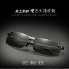 現貨 日夜兩用變色太陽眼鏡 黑框變色片 槍框變色 槍框夜視 FJ60001
