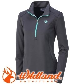 【Wildland 荒野 女款 雙色輕量保暖上衣 黑】0A32601/保暖上衣/長袖上衣/保暖上衣★滿額送