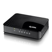 合勤 ZyXEL GS-105S v2 5埠 Giga乙太網路交換器Brand2.0 - 黑波紋版