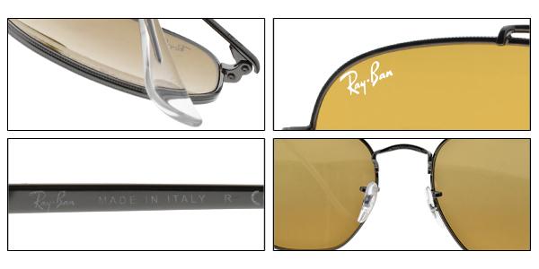 RayBan 太陽眼鏡 RB3648 004I3  (槍黑-漸層棕白水銀棕鏡片) 潮流幾何多邊飛行款 墨鏡 # 金橘眼鏡