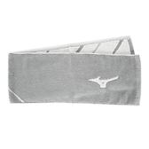 Mizuno Towel [J2TY010107] 毛巾 竹炭 提花 路跑巾 運動 舒適 除臭 22x110 灰