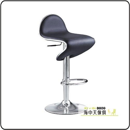 {{ 海中天休閒傢俱廣場 }} G-42 摩登時尚 餐椅系列 921-13 66B吧台椅(黑/白)