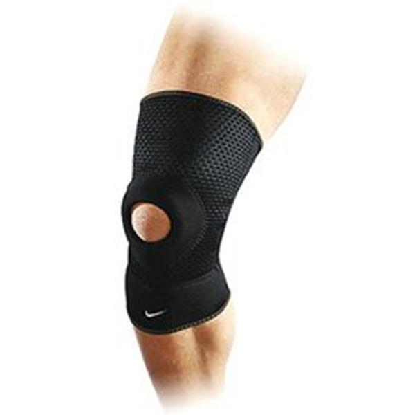 Nike Open Patella Knee Sleeve [FE0125-020] 運動 防護 支撐 開洞式 護膝 黑