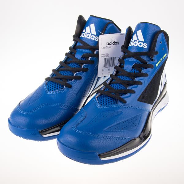ADIDAS  CRAZY GHOST 2 籃球鞋-藍/黑 C75589