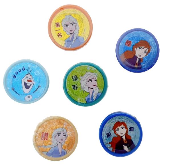 【卡漫城】 冰雪奇緣 印章 6入組 ㊣版 兒童玩具 Frozen 安娜 艾莎 雪寶 獎勵 圖章 集點 Elsa Anna
