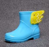 雨靴 兒童雨鞋男童女童寶寶可愛防滑雨靴小孩嬰幼兒鞋  萬客居