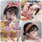 花童頭飾 兒童髮卡髮箍可愛女童頭箍韓國小女孩公主帶齒防滑碎髮壓髮不傷頭 瑪麗蘇