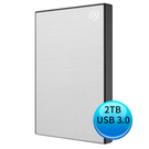 (2019新款)Seagate Backup Plus Slim 2TB USB3.0 2.5吋 外接硬碟 星鑽銀 STHN2000401