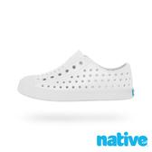 native 大童鞋 JEFFERSON 小奶油頭鞋-貝殼白