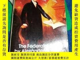 二手書博民逛書店The罕見Federalist Papers 聯邦黨人文集 英文