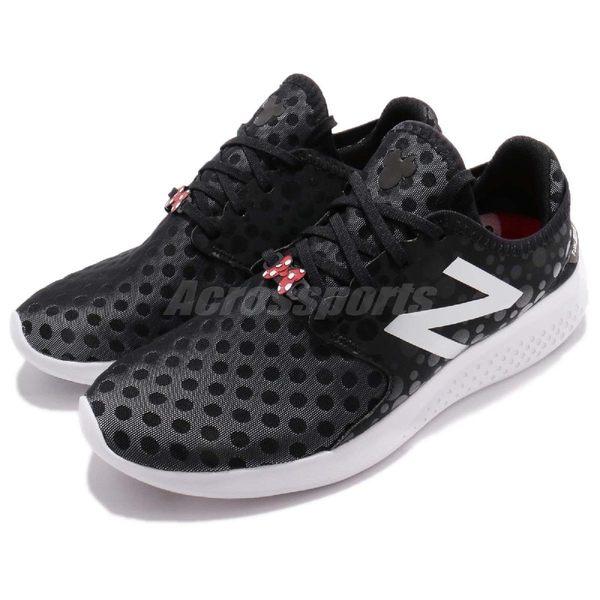 【六折特賣】New Balance 慢跑鞋 WCOASL3P B 黑 白 Disney 迪士尼 米妮 運動鞋 女鞋【PUMP306】WCOASL3PB