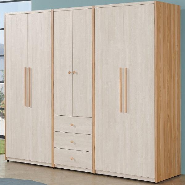 衣櫃 衣櫥 QW-037-4 亞特蘭7.28尺組合衣櫃【大眾家居舘】