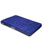 充氣床 美國INTEX氣墊床家用雙人加厚單人戶外便攜午休床折疊充氣床墊