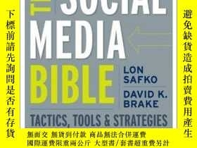 二手書博民逛書店The罕見Social Media BibleY256260 Safko, Lon  John Wiley &
