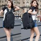 書包後背包女電腦包中學生男大容量帆布旅行包潮休閒背包運動 黛尼時尚精品