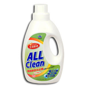 多益得All Clean纖維酵素洗衣精2000ml