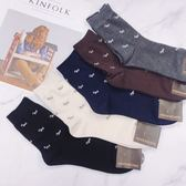 男襪 狗狗花紋 韓國襪子 西裝襪 紳士襪 長筒襪