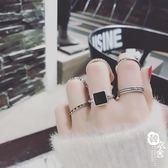 珍珠多件套戒指食指關節戒個性潮人飾品女士指環【韓衣舍】