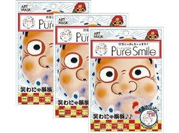 【日本Pure Smile】招福面膜_去厄3片