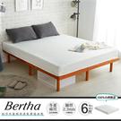 兩面睡感 柏莎冬夏兩用彈力彈簧床墊/雙人加大6尺(軟Q)/H&D東稻家居