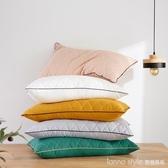 一對裝】枕頭枕芯成人酒店羽絲絨枕頭家用單人學生宿舍雙人 LannaS YTL