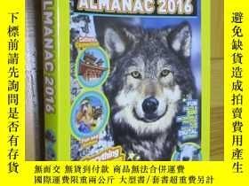 二手書博民逛書店National罕見Geographic Kids Almanac 2016 (小16開)Y5460 Nati
