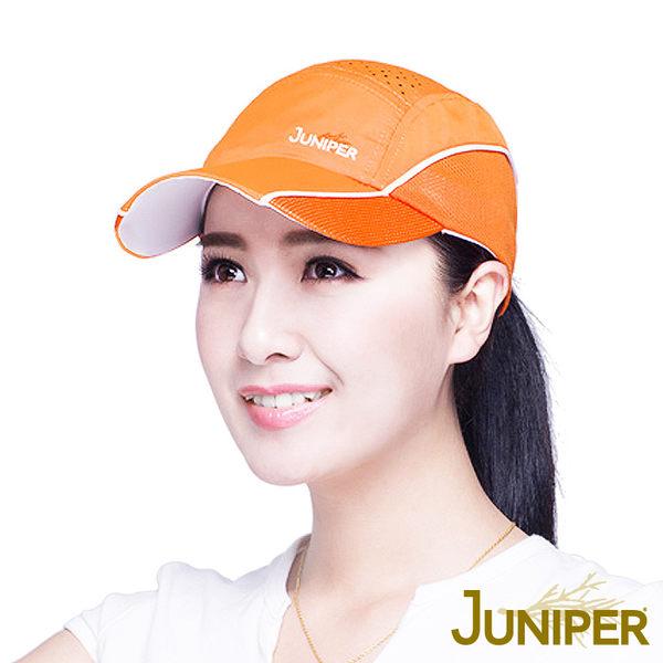 棒球帽子-戶外機能防曬帽透氣運動帽鴨舌帽J7562 JUNIPER