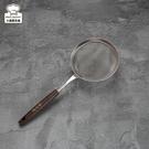 Linox不銹鋼濾網木柄12cm果汁網-大廚師百貨