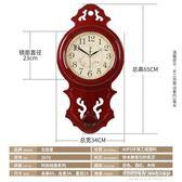 掛鐘 北極星歐式鐘錶搖擺靜音掛錶時尚個性復古掛鐘創意客廳時鐘石英鐘 蘇荷精品女裝IGO
