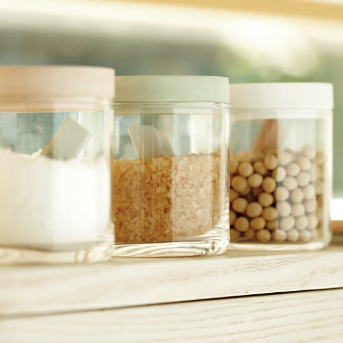 [MIJ] 日本 Soil 珪藻土玻璃收納罐 除濕 吸水 乾燥 硅藻土 矽藻土 FOOD CONTAINER glass