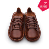 【A.MOUR 經典手工鞋】休閒鞋 - 咖 / 氣墊鞋 / 平底鞋 / 嚴選皮革 / 休閒鞋 / DH-8502