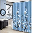 浴間洗澡浴簾浴室免打孔衛生間門簾子淋浴房隔斷簾防水布洗浴加厚JA9181『毛菇小象』