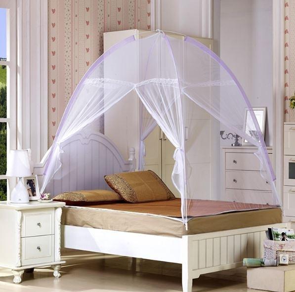 自動魔術蒙古包/蚊帳折疊免安裝打開即用蚊帳寢式用品(只能宅配) 390元