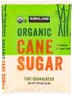 [COSCO代購] C901991 KS 科克蘭 有機蔗糖 4.54公斤